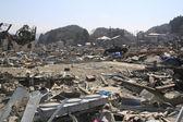 Le tremblement de terre japon grand est — Photo