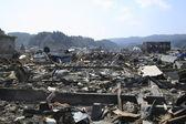 伟大的东日本地震 — 图库照片