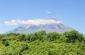 Mt.Iwate and blue sky — Stock Photo