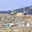 Disaster Recovery the Great East Japan Earthquake — Stock Photo