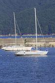 Sailboat in Miyako,Iwate — Stock Photo