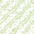 Royalty-Free Stock Vector Image: Spring seamless pattern on white background