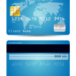 Credit card — Stock Vector #8896629