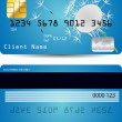 Credit card — Stock Vector #9002969