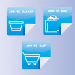 Royalty-Free Stock Vector Image: Shopping Icons Set