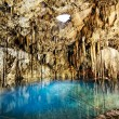 Cenote of dzitnup — Stock Photo