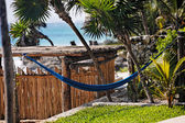 Terrasse eine Cabana — Stockfoto