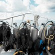 Stock Photo: Diving equipment