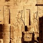 Horus temple Edfou — Stock Photo