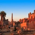 Obelisk Karnak temple — Stock Photo #10150949