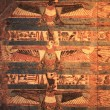 Kom Ombo vulture painted — Stock Photo