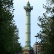 La bastille square — Stock Photo