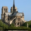 Notre dame de paris — Stock Photo #10151547