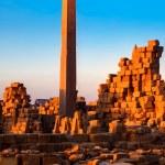 Obelisk Karnak temple — Stock Photo #10151575