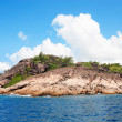 GRANITE ROCKS OF PRASLIN — Stock Photo