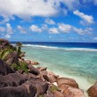 Anse source d'argent - Stock Photo