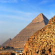 The pyramids - Stock Photo