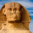 The sphinx & the pyramids — Stock Photo #10151981