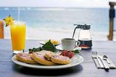 朝食 — ストック写真