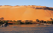 Desert sand dune — Stock Photo