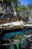 Dos ojos cenote — Stock Photo