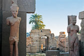 Karnak temple luxor — 图库照片