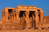 The Kom Ombo temple — Stock Photo