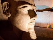 Ramessses II statue Luxor temple — Stock Photo