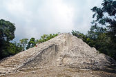Mayan site of Coba — Stock Photo