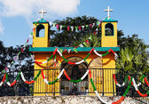 Mexican church — Stock Photo