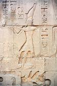 Amenhotep iv karnak luxor świątyni — Zdjęcie stockowe