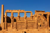 The Philae temple — Stock Photo