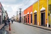 Street of valladolid — Stock Photo