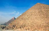 The pyramids — Stock Photo