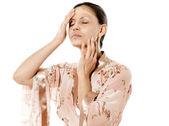 Skincare woman — Stock Photo