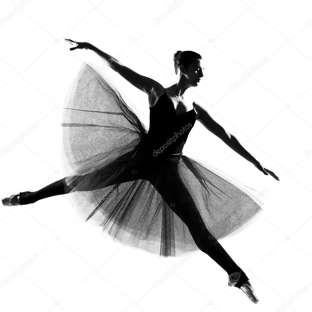 ballerina silhouette leap - photo #17