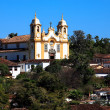 Royalty-Free Stock Photo: Matriz de Santo Antonio church of tiradentes minas gerais brazil