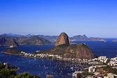 Botafogo a rio de janeiro a sugarloaf brasil — Stock fotografie