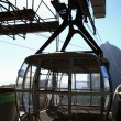 Cable car cabin - 图库照片