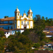 Matriz de Santo Antonio church of tiradentes minas gerais brazil — Stock Photo #9708314