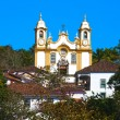 Stock Photo: Matriz de Santo Antonio church of tiradentes minas gerais brazil