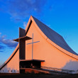 Church at sunset - Foto de Stock  
