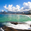Ipanema Leblon — Stock Photo