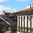 Ouro Preto cityscape - Stock Photo