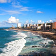 Barra beach salvador of bahia — Stock Photo #9709033