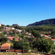 Church of tiradente cityscape village in minas gerais brasil — Stock Photo