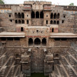 Giant step well of abhaneri — Stock Photo #9709248
