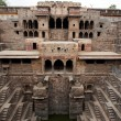 Stock Photo: The giant step well of abhaneri