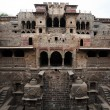 Step well of abhaneri — 图库照片