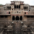 Step well of abhaneri — Stock Photo